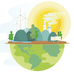 Climate justice and sustainable living practices