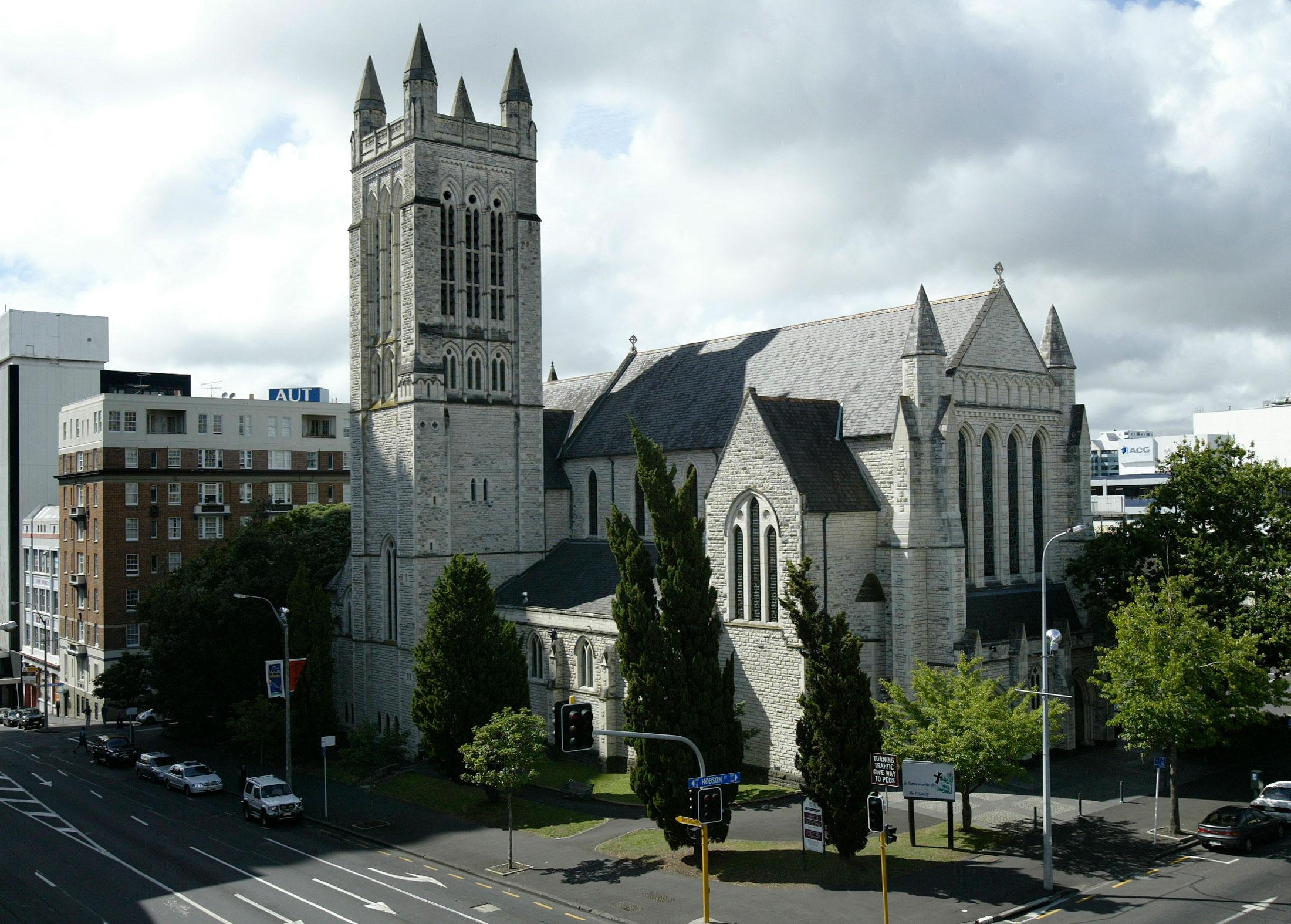 St Matthew-in-the-City, Auckland, NZ