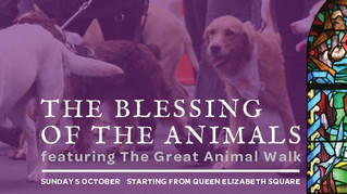 The Annual Blessing of the Animals Service