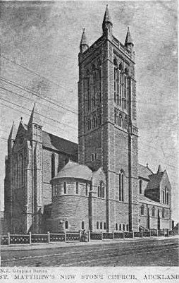St Matthew's new stone church