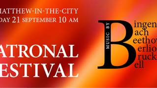 Patronal Festival 2014