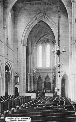 Interior of St Matthew's