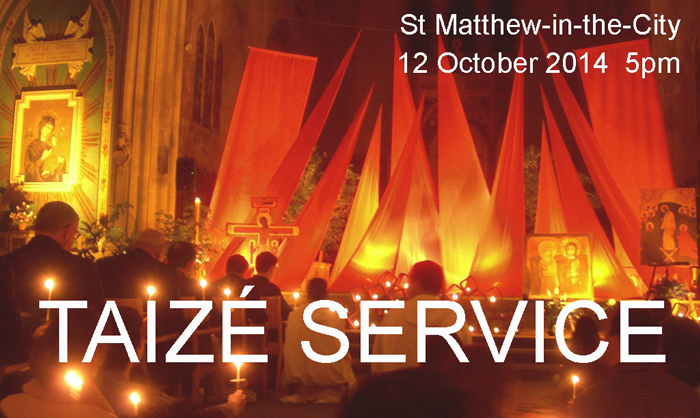 Taize Service at St Matthew-in-the-City