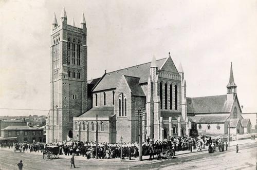 New stone church opens its doors