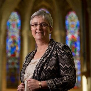 St Matthew's new vicar has stirred up the parish with her views on same-sex marriage - and she's una