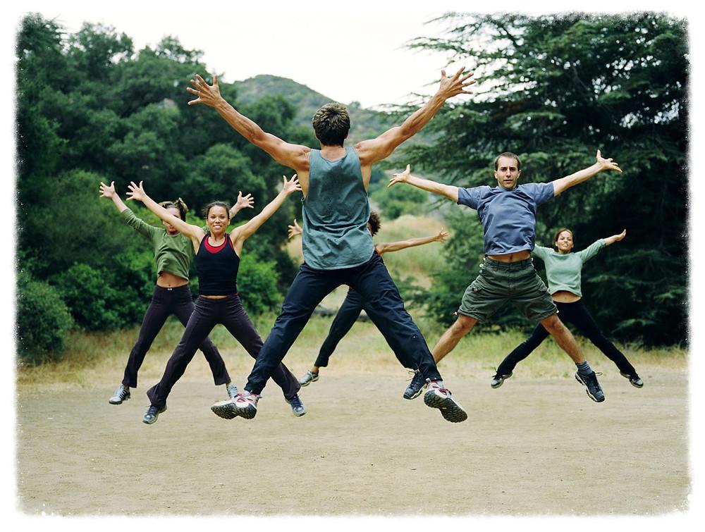 Outdoor Aerobics 2014-6-6-8:30:31