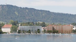 Neues vom Swiss Re Bau am Mythenquai
