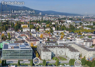 Stadtrat überweist Privaten Gestaltungsplan «Mythenquai 20-28»