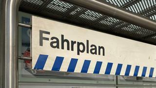 Öffentliche Fahrplanauflage - Aufruf zur Mitwirkung