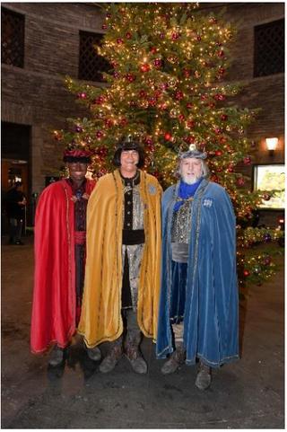 Sonntag, 6. Januar 2019 (Dreikönigstag) 11.45 Uhr – Bahnhof Enge: Rendez-Vous mit den Drei Königen