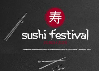 Willkommen zum Sushi Festival in Zürich!