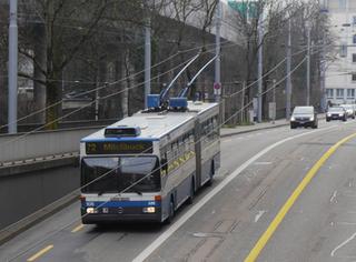 Haltestelle Hertersteg in Richtung Schmiede Wiedikon ab 10.2. in Betrieb