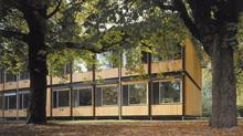 Züri-Modular-Pavillon auf der Schulanlage Gabler