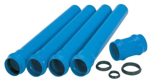 Tubo de PVC defofo