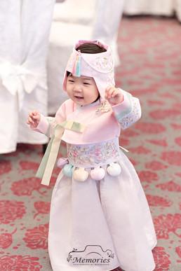 Pink Hanbok-Girl