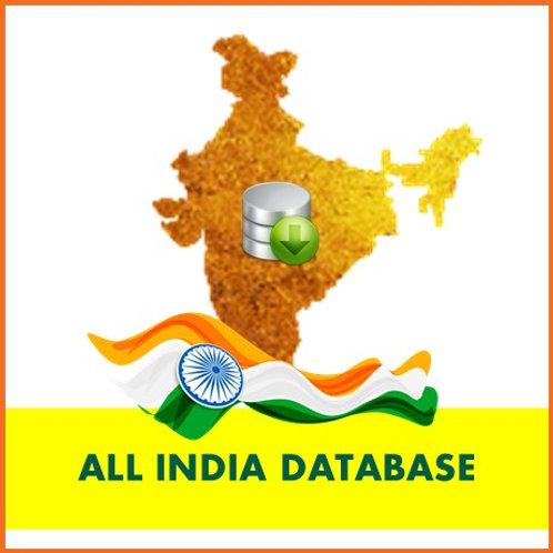 All INDIA DATABASE