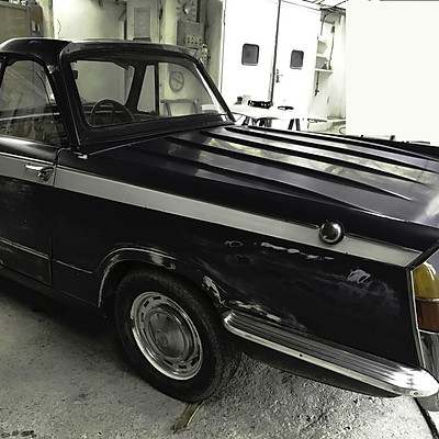 Restauration Triumph Herald