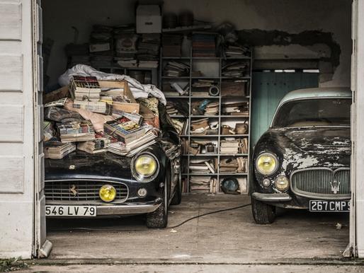 """Un """"trésor automobile"""" mis à jour en Poitou-Charentes - Collection Baillon."""