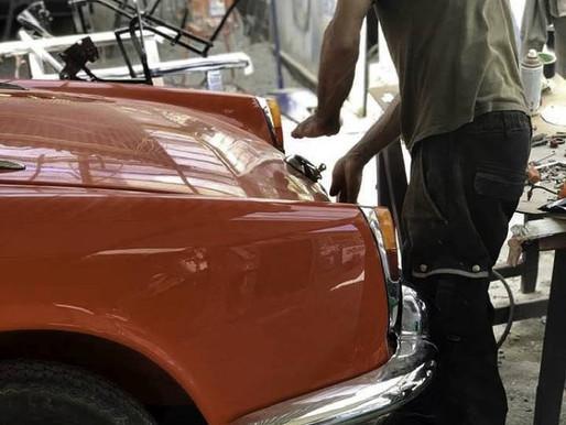 Restauration Alfa Roméo Giulia 1962