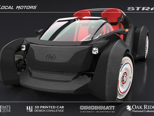 Découvrez la Strati, la première voiture open source imprimée en 3D !