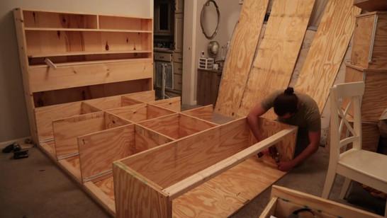 Bed Frame Construction
