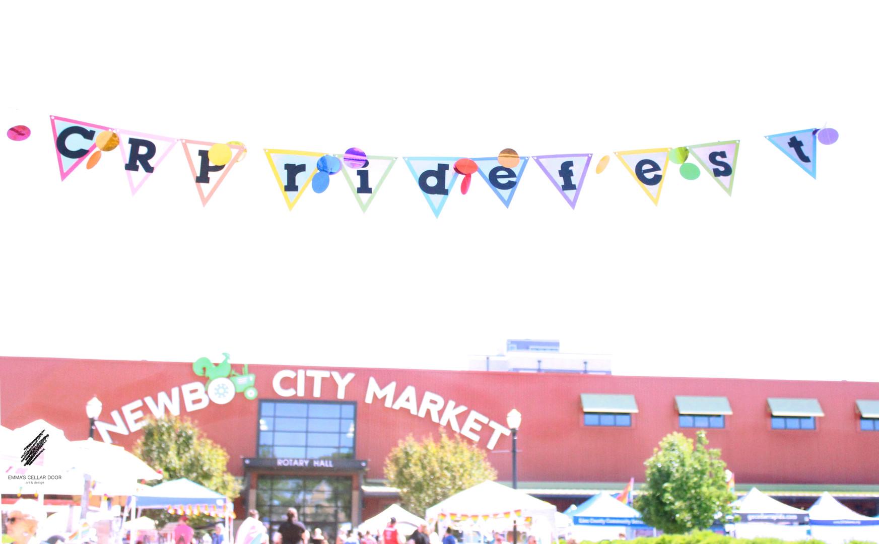 CRPrideFest at NewBo City Market