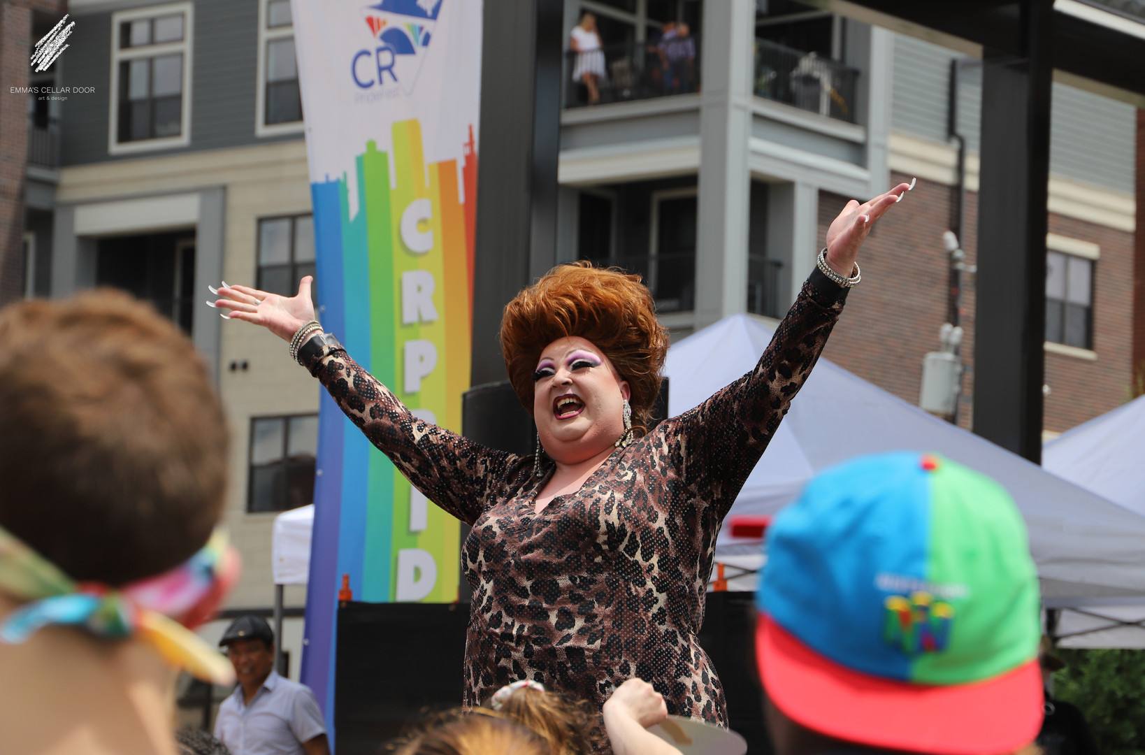 Roxie Mess at CRPrideFest