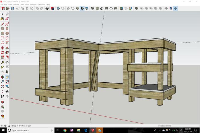 Corner Desk Design