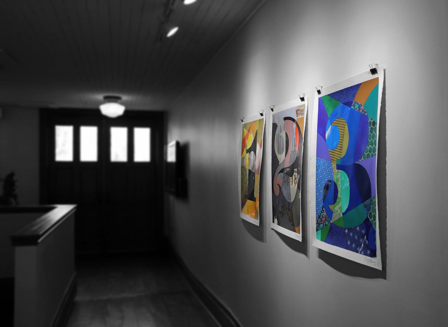 Cey Adams Exhibit at CSPS Hall