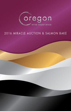 2016 OWE Miracle Auction Booklet Cover