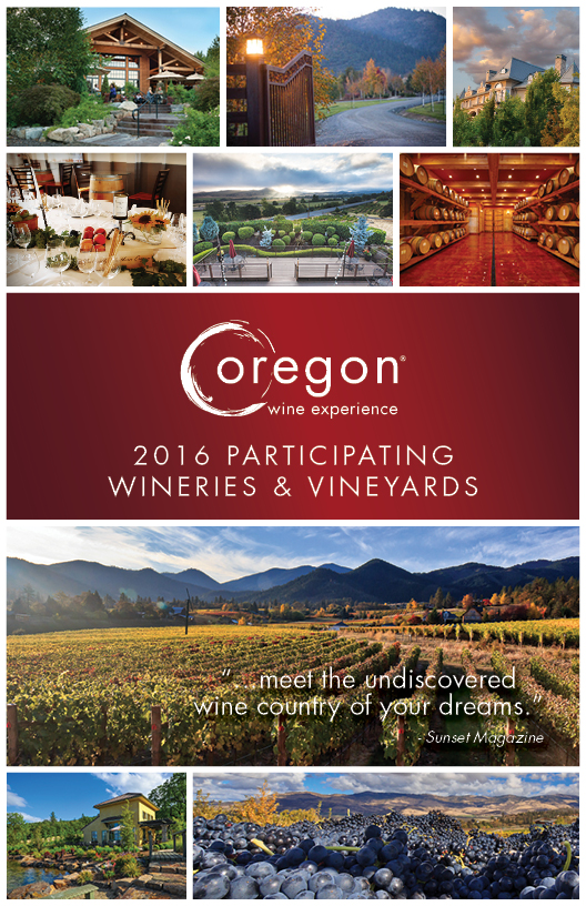 2016 OWE Participating Wineries Cover