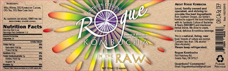Rogue Kombucha 2015 Redesign