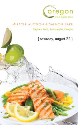 OWE Miracle Auction & Salmon Bake