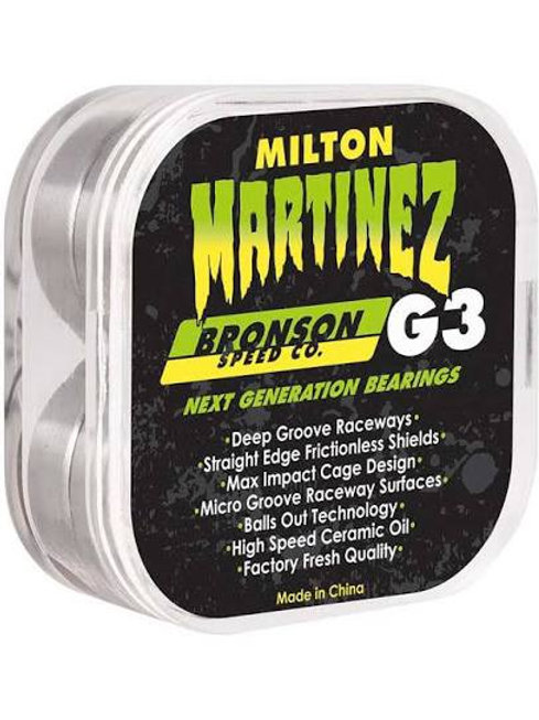 BRONSON MARTINEZ G3 BEARINGS