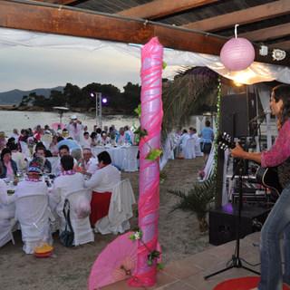 Ibiza Beach Dinner