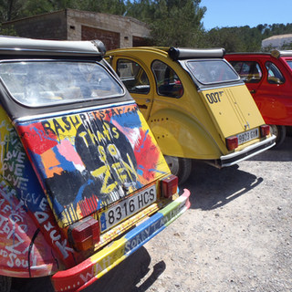 Ibiza Hippy Cars