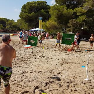 Ibiza Beach Frisbee