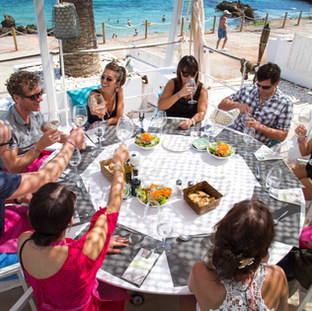 Ibiza Beach Lunch