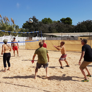 Ibiza Beach Volleyball