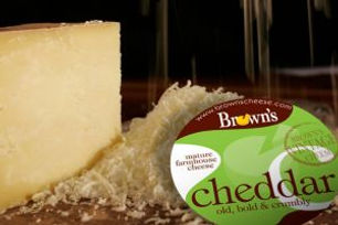 1 Browns Cheddar Cheese