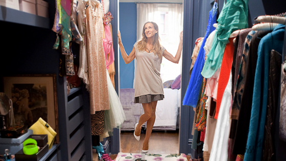 Wardrobe strategies: the psychology of a wardrobe cleanout
