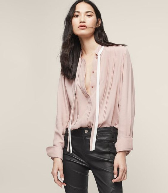 Inspiration: early spring blouses