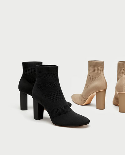 Tips for shorter legs: the sock ankle boot revelation