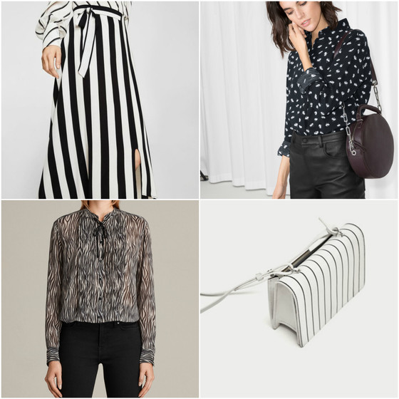 Creative with neutrals: tackling this spring's polka dots, stripes, florals and animal prints