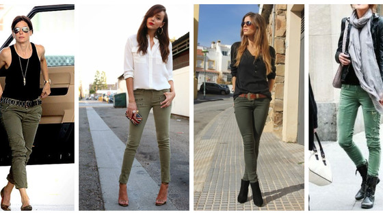 Inspiration: cool but chic in combat jeans