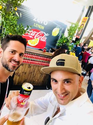 השקת קוקה קולה זירו בוועידת MAD