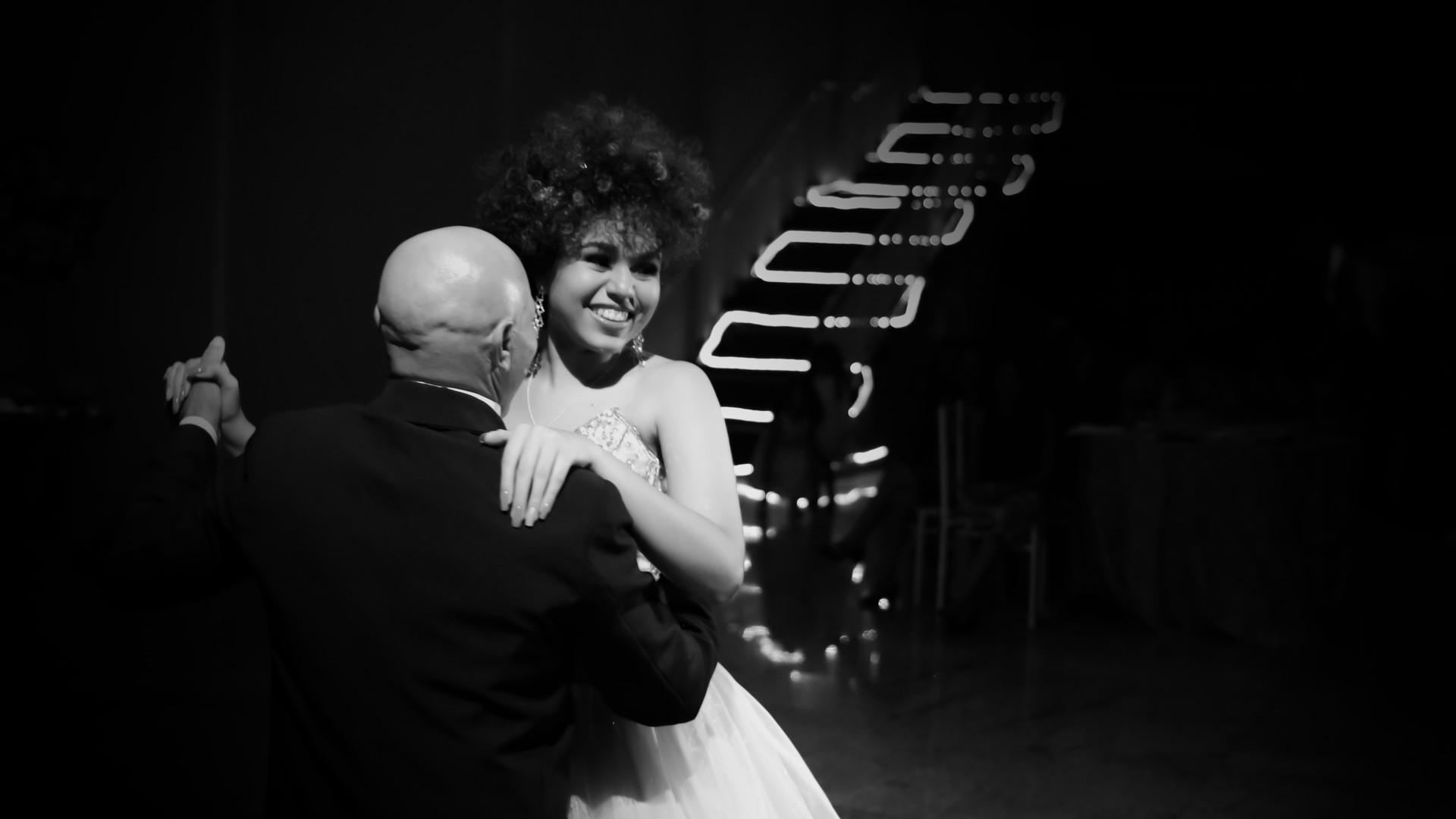 debutante dançando