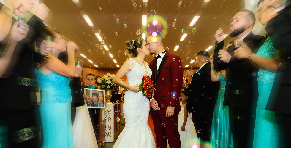 casamento saida da igreja