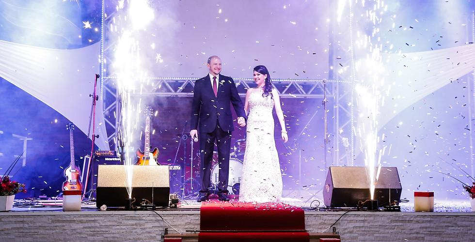 casamento entrada dos noivos