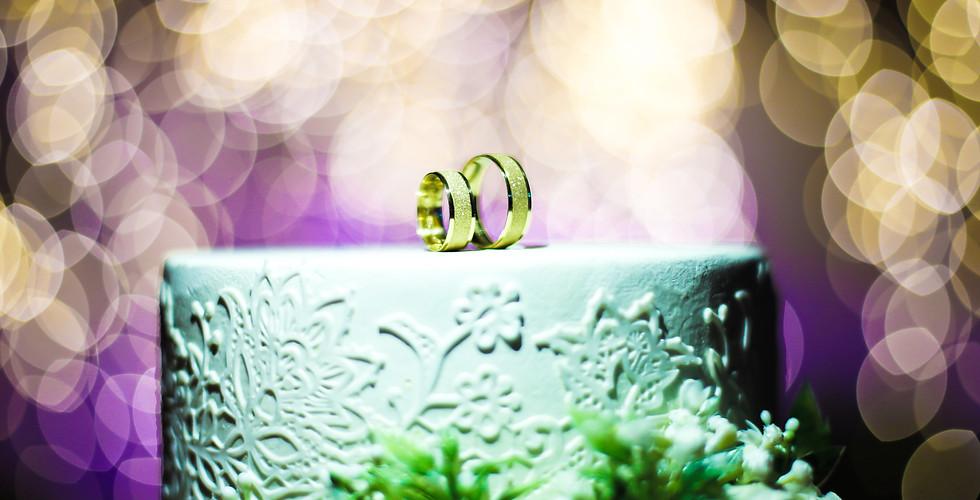 foto das alianças casamento